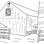 Barn Quilt Coloring Pages
