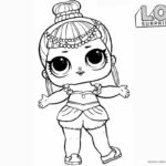 Lol Surprise Doll Coloring Pages Printable Unicorn