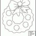 Christmas Coloring By Number Pages Printable