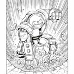 Iron Man Infinity War Coloring Pages