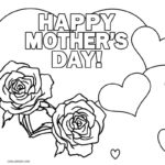 Printable Mothers Day Colouring Pictures