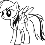 Coloring Pages Pony Printable