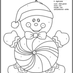 Color By Number Christmas Coloring Sheets