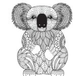 Free Online Coloring Pages For Adults Animals