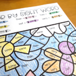Spring Coloring Pages For 1St Grade