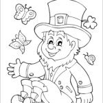 Free Printable St Patrick's Day Cards To Color