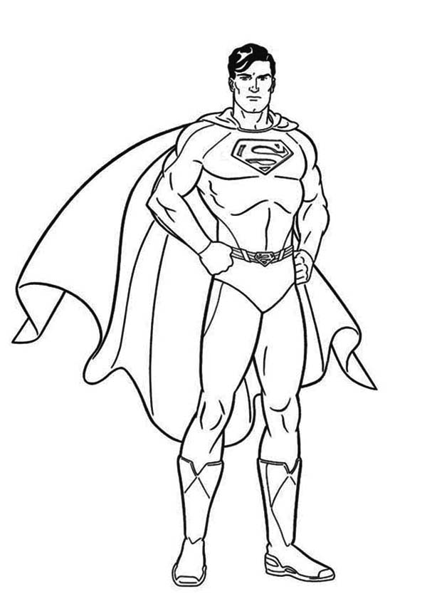 Superman coloring pages   Fotolip.com Rich image and wallpaper
