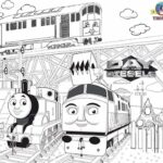 Diesel Train Coloring Pages To Print