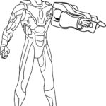 Avengers Endgame Coloring Pages Iron Man
