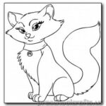 Preschool Coloring Pages Kittens