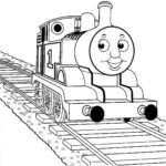 Thomas Train Colouring Pages