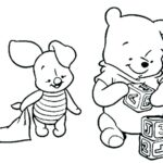 Cute Printable Winnie The Pooh Coloring Pages