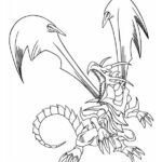Dark Magician Yugioh Coloring Pages
