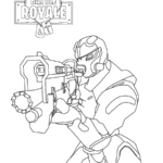 Fortnite Coloring Pages You Can Print