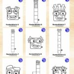 Numberblocks Coloring Pages 10