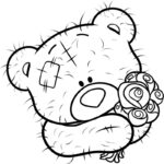 Coloring Pages Teddy Bear Printable