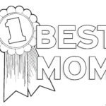Coloring Pages Happy Birthday Mom