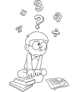 Doraemon And Nobita 2 Coloring Page - Free Coloring Pages ...