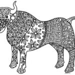 New Year Coloring Pages 2021