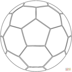 Printable Coloring Pages Of Sports Balls