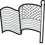 Flag Coloring Pages Free