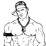 Coloring Pages Wwe John Cena
