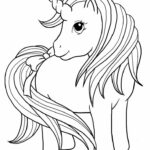 Printable Unicorn Cat Coloring Pages