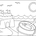 Summer Cute Printable Coloring Pages