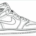 Nike Coloring Pages Shoes