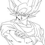 Coloring Pages Goku Ssj