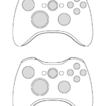 Xbox Controller Coloring Pages