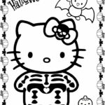 Hello Kitty Superhero Coloring Pages