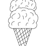 Coloring Ice Cream Pages