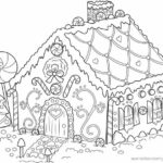 Detailed Christmas Coloring Pages Free Printable
