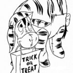 Happy Halloween Coloring Pages Disney