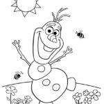 Olaf Frozen Printable Coloring Pages