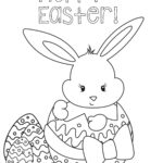 Easter Coloring Pages For Kids Disney