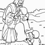 Free Coloring Pictures Of Jesus