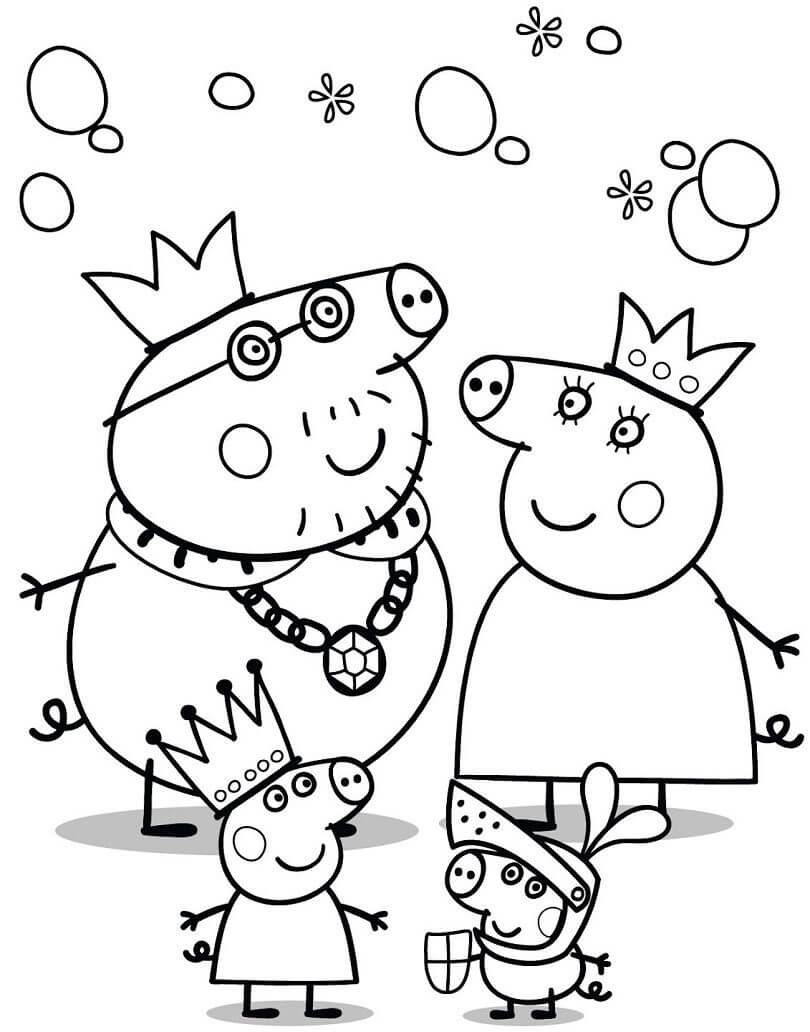 30 Printable Peppa Pig Coloring Pages You Won't Find Anywhere