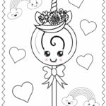 Free Coloring Pages Printable Unicorn