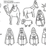 Free Printable Baby Jesus Coloring Pages