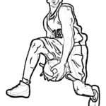 Coloring Pages Basketball Shoes