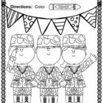 Veterans Day Coloring Pages For Kindergarten