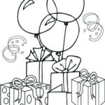 Coloring Pages Happy Birthday Grandma