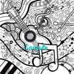 Music Coloring Pages Pdf Free