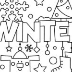 Winter Coloring Pages For Elementary Students