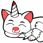 Baby Cat Unicorn Coloring Pages