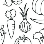 Coloring Pages Vegetables And Fruits
