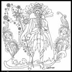 Coloring Pages For Queen