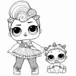 Coloring Sheet Lol Surprise Doll Coloring Pages Printable